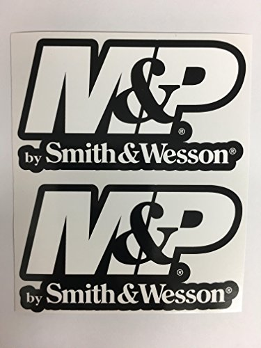 SBD Decals 2 Smith & Wesson M & P AR15 Black Back Die Cut Decal