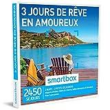 SMARTBOX - Coffret Cadeau homme femme couple - 3 jours de rêve en amoureux - idée...