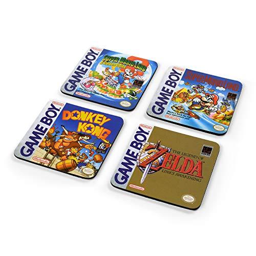 Nintendo CSP0022 Untersetzer, Mehrfarbig