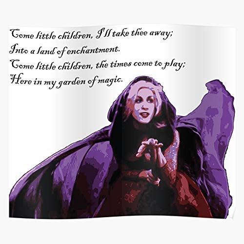 Freshmarque Bette Spell Hocus Skin Eye Book Devil Pocus Middler The Most Impressive and Stylish Indoor Decoration Poster Available Trending Now