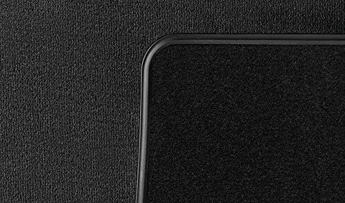 BMW Original 51472293353 - Alfombrillas de textil para parte trasera, color negro