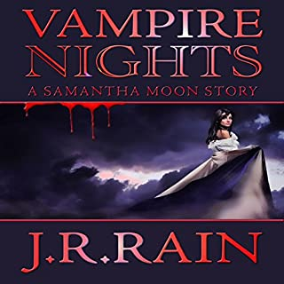 Vampire Nights: A Samantha Moon Story cover art