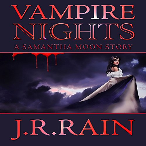 Vampire Nights: A Samantha Moon Story audiobook cover art