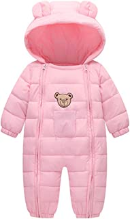 Fairy Baby Infant Boy Girl Winter Thick Romper Outwear Warm Hood Snowsuit Jumpsuit