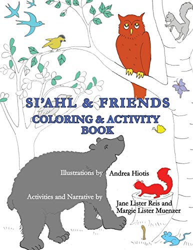 Siahl & Friends Coloring and Activity Book