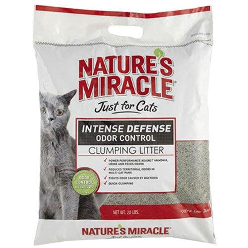 عروض Natures Miracle Intense Defense Clumping Litter