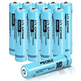 ICR10440 3.7V 350mAh Lithium Ion Rechargeable Battery with Button Top 10pcs