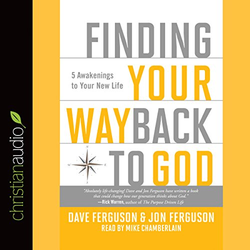 Finding Your Way Back to God audiobook cover art