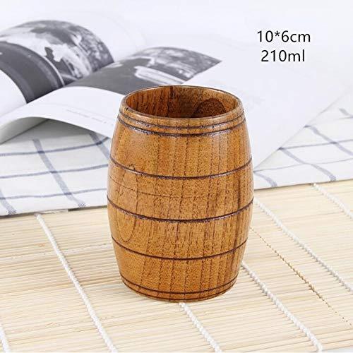 Erjialiu Japanse Stijl Houten Beker Isolatie Beker Likeur Koffie Melk Sap Water Theekop Natuurlijke Hout Beker
