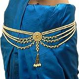 Fresh Vibes Traditional Pearls Waist Belt Saree Tagdi Kamarband for Women – Ladies
