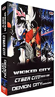Kawajiri Box : Wicked City - Cyber City - Demon City (3 DVD) (B002VW81L0) | Amazon price tracker / tracking, Amazon price history charts, Amazon price watches, Amazon price drop alerts