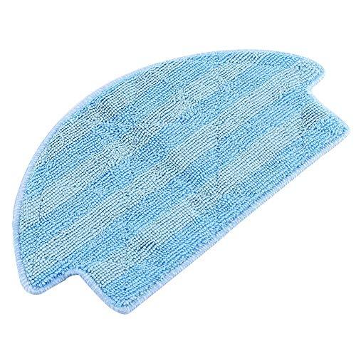 Atyhao Vacuum Mop Cloth doeken Clean Pad mat voor Xiaomi Roborock S50 S51 stofzuiger Fiber Blue 7.9 * 5.5 inch