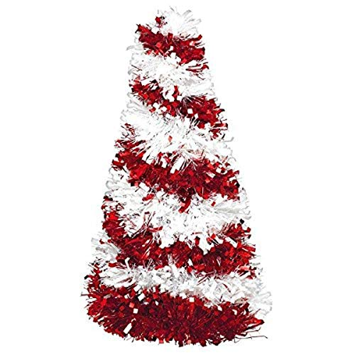 Best Red and White Christmas Tree Table Decoration