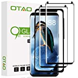 Galaxy S8 Screen Protector Tempered Glass (2 Pack), OTAO 3D...