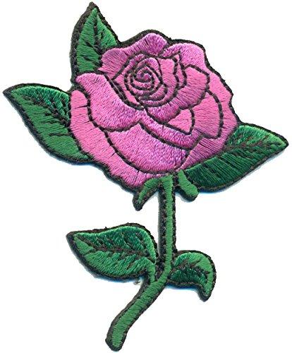 Rose Flower Floral Uniforme de la decoracin Disfraz Emo Gtico Patchwork parche