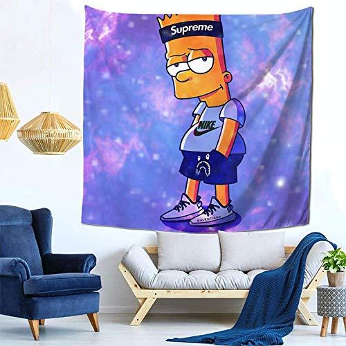Tapestry - Tapestry para colgar en la pared, para dormitorios, bar-T Simp-Son