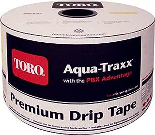"""Toro Aqua Traxx 5//8/"""" Drip Tape 6 mil 4 in Spacing 1.12 gpm 2,500 ft"""