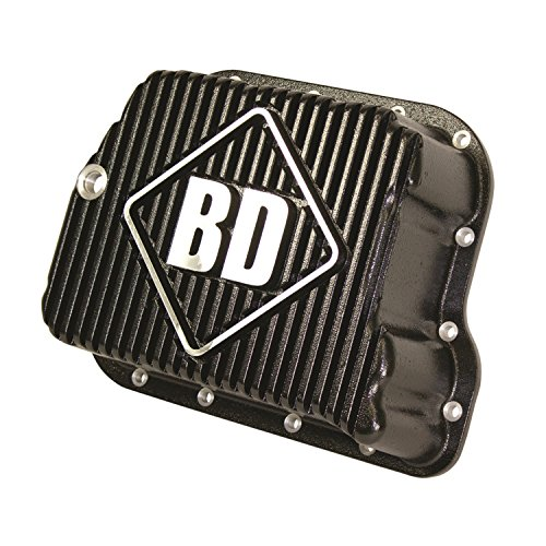 BD Diesel 1061501 Deep Sump Transmission Pan Holds 2 Quarts Incl. Pan w/Temp. Sending Unit Port/Pan Gasket/Magnetic Drain Plug//Hardware Deep Sump Transmission Pan