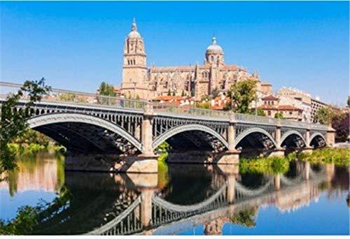 ZZXSY 1000 Puzzle Piezas Adultos La Catedral De Salamanca Es Una Catedral del Gótico Tardío Y Barroco En La Ciudad De Salamanca, Castilla Y León En España Se Puede Usar como Regalo De Cumpleaños