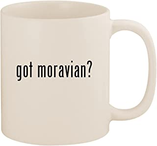 got moravian? - 11oz Ceramic White Coffee Mug Cup, White