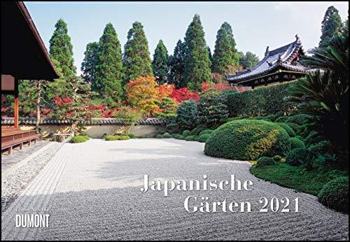 Japanische Gärten 2021 ‒ Broschürenkalender ‒ mit informativen Texten ‒ mit Jahresplaner ‒ Format 42 x 29 cm