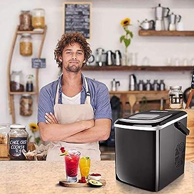 Ice Maker Machine For Countertop,Portable Compa...