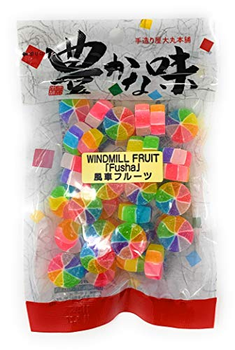 Daimaru Windmill Fruit Fusha Japanese Hard Candy 4.3 oz