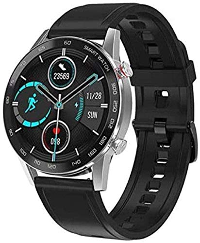 Smartwatch Bluetooth Call Smartwatch Hombres Mujeres Impermeable Deporte Fitness Pulsera Para Android Iphone-F-B-E