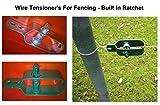 Cerca de alambre tensor - (, 4 unidades - Natural) -...