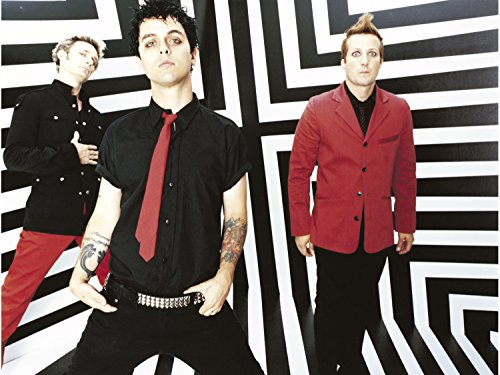 Green Day Rock Band Concert Poster Home Decor #6 16x20 Inches
