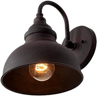 Ganeep Retro Viento Industrial luz de Pared al Aire Libre