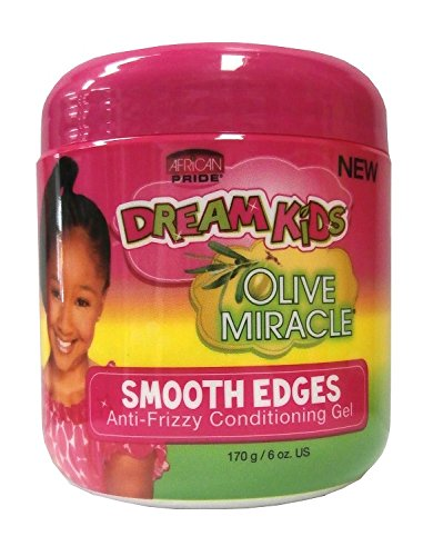 African Pride Dream Kids Olive Smooth Edges Anti Frizzy Conditioning Gel 170g