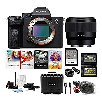 Sony a7 III Full Frame Mirrorless Camera Bundles by Sony