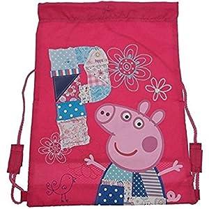Peppa Pig Patchwork - Mochila Blanda con diseño de Peppa Pig