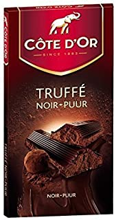 Cote D'Or Dark Chocolate Truffle Filled Bar, 5 Count