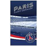 PSG Parc des Princes Drap de Plage, 100% Coton, Bleu, 120x70 cm
