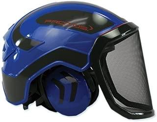 Protos Pfanner Helmet - Blue & Grey