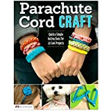 West Coast Paracord 22 Quick Parachute Cord Craft – Quick and Simple Instructions for 22 Cool Projects – Make Bracelets Keychains Lanyards Dog Collars (22 Quick Crafts Book)
