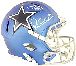 Emmitt Smith and Michael Irvin Autographed Signed Dallas Cowboys Riddell Blaze Full Size Replica Helmet - PSA/DNA Authentic