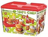 Ecoiffier 2623 - Hamburger Set ,36 Stück