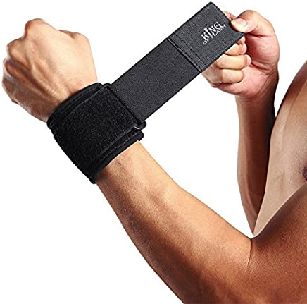 KING OF FLASH Protective Wrist Support For Carpal Tunnel, Sports, Repetitive Strain, and Arthritis, Wrist Wraps (One Piece)