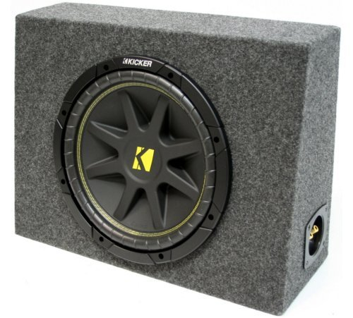 ASC Package Single 12' Kicker Sub Box Regular Cab Truck Subwoofer Enclosure C12 Comp 300 Watts...