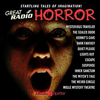 Great Radio Horror audiobook cover art