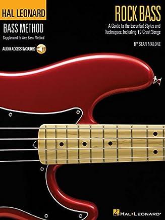 Rock Bass: Hal Leonard Bass Method Stylistic Supplement by Sean Malone(2004-10-01)