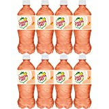 Canada Dry Peach Soda, 20oz Can (Pack of 8, Total of 160 Oz)