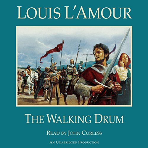 The Walking Drum audiobook cover art