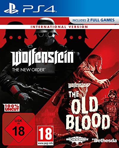 Wolfenstein: The New Order & The Old Blood (International Version) - PlayStation 4 [Importación alemana]