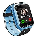 PTHTECHUS Reloj Inteligente Teléfono para niños, GPS Rastr