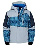 Arctix Boys Spruce Insulated Jacket, Cool Grey, Small