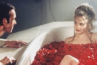 Mena Suvari American Beauty 24X36 Movie Poster lying in bathtub of flowers